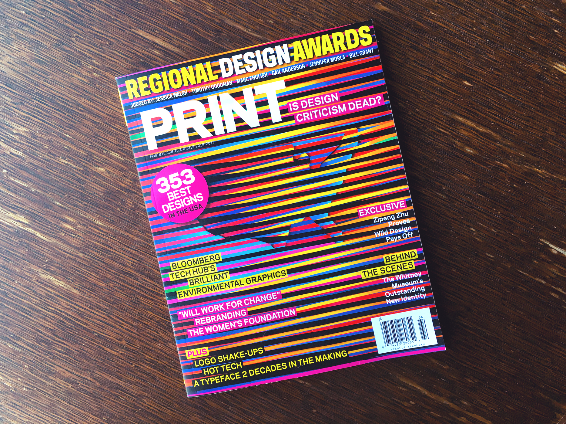 Print Magazine Awards 2016