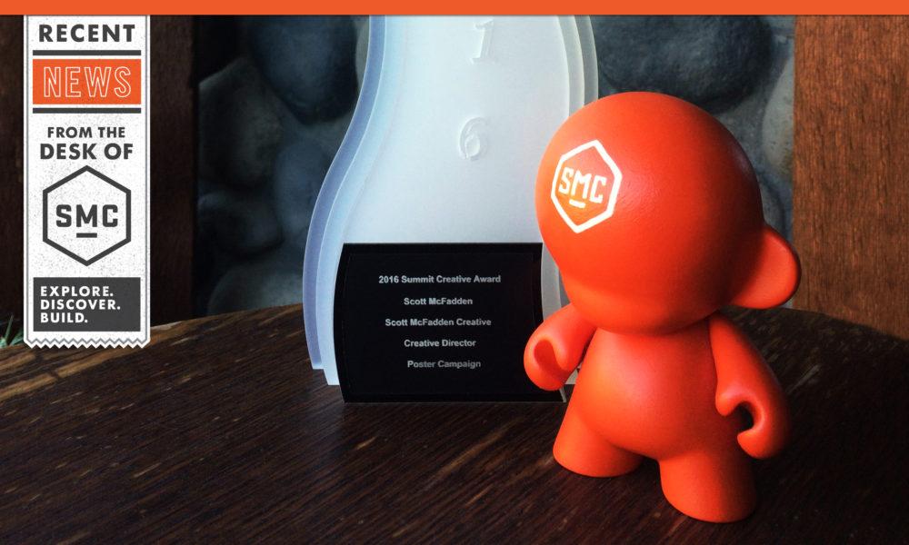 Winner of the 2016 Summit Creative Award!