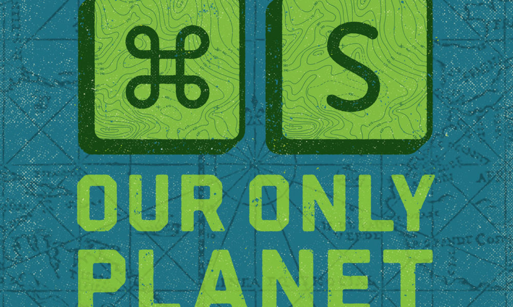 Save Our Only Planet – Quick Keys Graphic Designers All Know