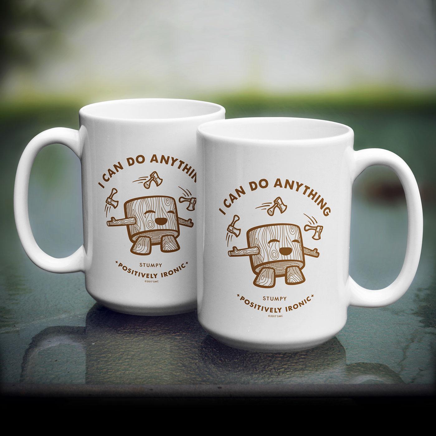 Stumpy - Mug Design Dallas TX
