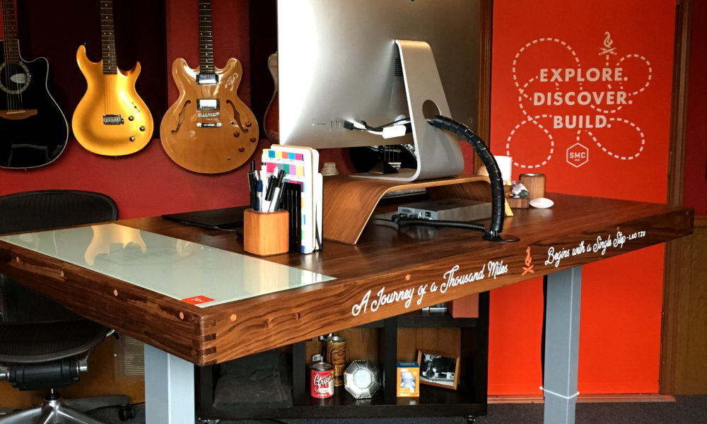 Using Design to Build a Graphic Designer's Desk