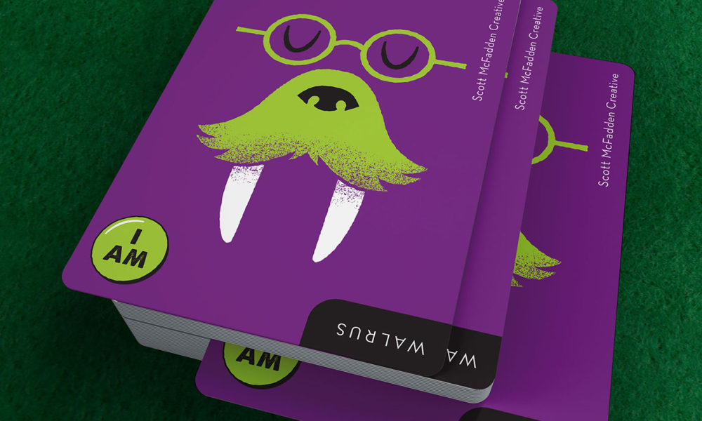 Award: AIGA Go Fish Card