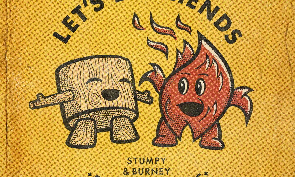 Stumpy and Burney – Shop SMC Graphic Design