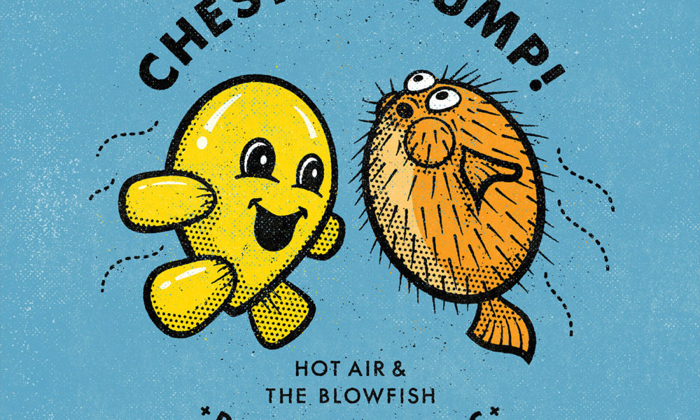 Hot Air And The Blowfish: a new addition to SHOP-SMC!